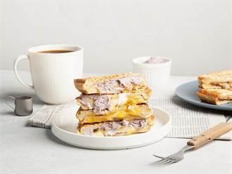 下午茶新選擇 路易莎「甜磚壓」全台陸續香酥開賣
