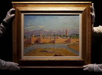裘莉拍賣邱吉爾戰時唯一風景畫 逾3億天價成交