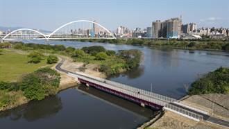 建跨橋、拓路寬 新莊河濱自行車道安全升級