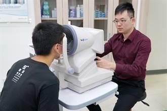大葉大學角膜地形圖儀器 視光產業與學系結合