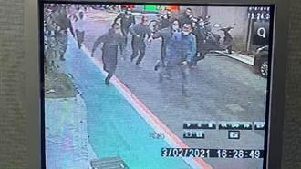 大安區追砍案 警速逮1人 續追在逃嫌犯