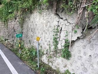 台南市道174線汛期邊坡土石鬆動 8月底前完成路段整治