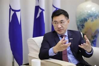 張亞中快評》江啟臣的訪談 民進黨笑了