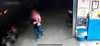 女子背名牌包台北大學慢跑 遭男子搶劫拖行濺血