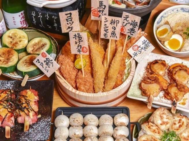 台中美食 人氣串燒店TOP 6 今晚不逛夜市 來點不一樣的(圖/ReadyGO 提供)