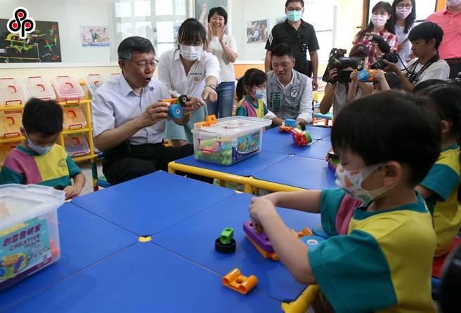 私幼与地方政府签约后变成准公共幼儿园。(本报资料照片)