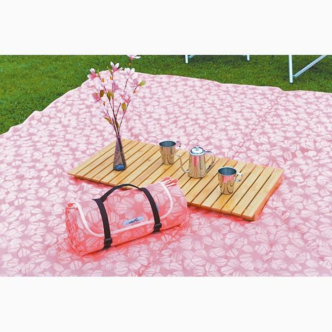 樂天市場的悠遊戶外露營生活館Wiidfun野餐墊,原價1980元,特價1880元。(樂天市場提供)