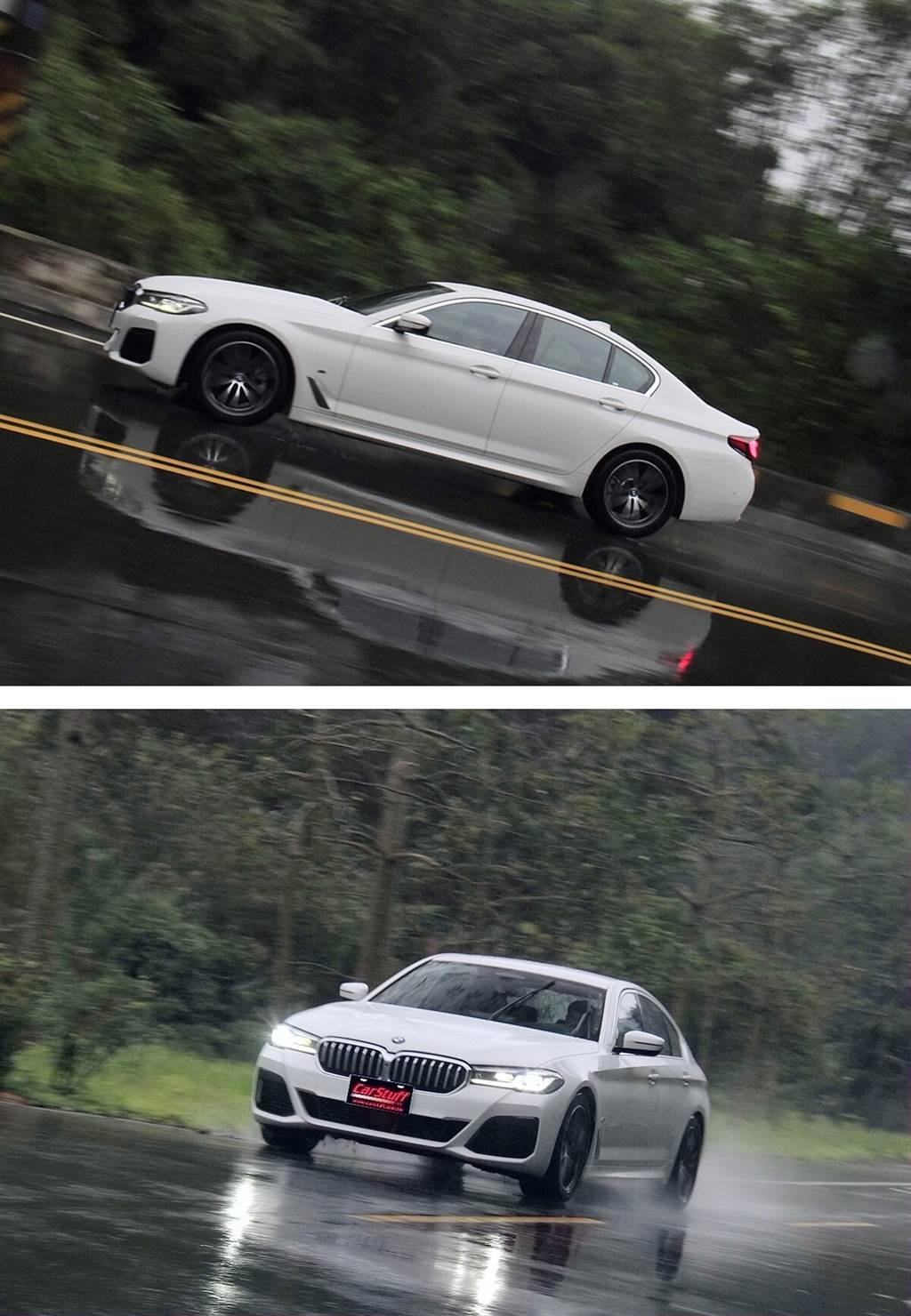 這真的是五系列嗎?BMW 520i M Sport首發版給你三系的硬派感受