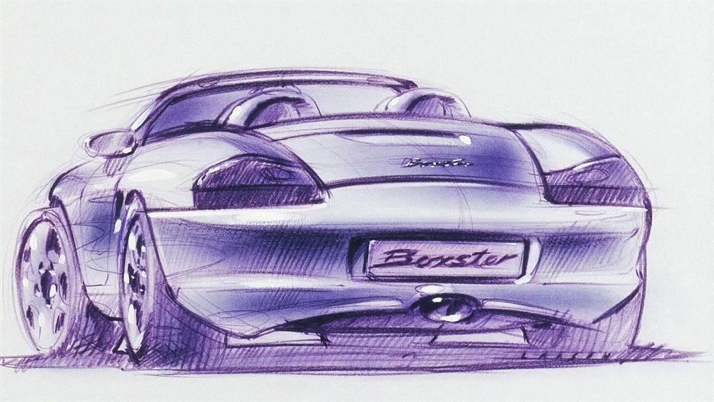 「Boxster」跑車成功延續保時捷早期Spyder、Speedster和Roadster跑車的技術成就,甚至刻意融入1950年代550 Spyder和718 RS 60的設計元素。