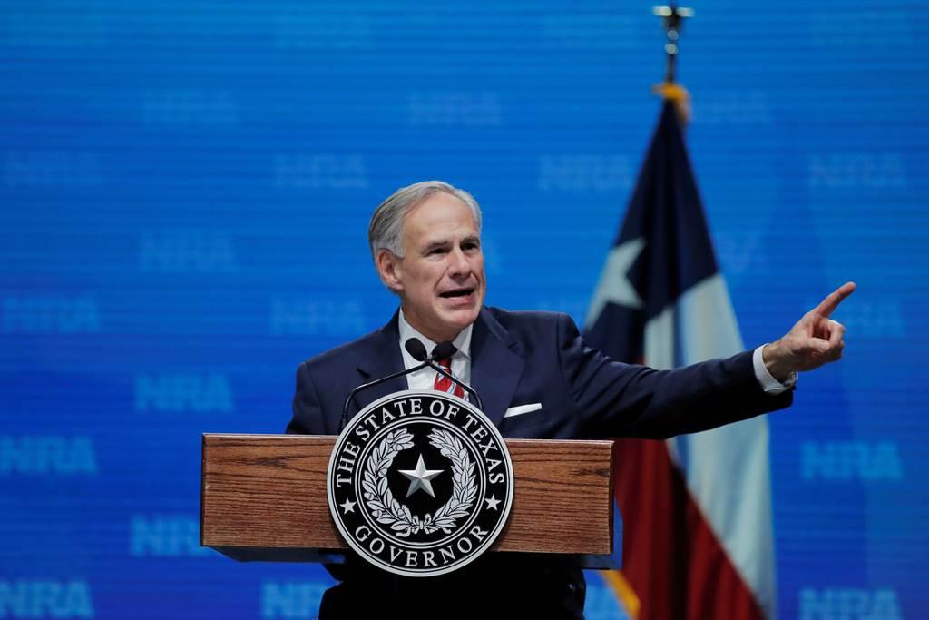 美德州州长解除口罩令 商业活动百分百开放。(图/路透)
