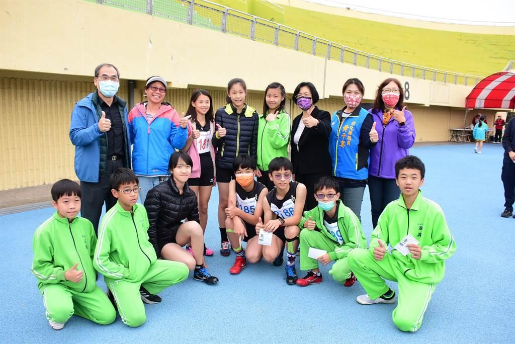 彰化县中小学联合运动会于3月2日至5日共4天在县立体育场举办。(彰化县政府提供/吴敏菁彰化传真)
