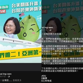 揭外銷鳳梨到陸最多 黃子哲:民進黨口嫌體正直
