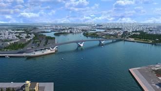 安平漁港跨港大橋2024年完工 將成安平漁港新地標