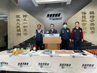 「一帆風順」海洛因磚荼毒台灣 刑事局出擊毒梟陰溝翻船