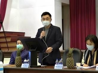 江啟臣籲兩岸實質協商  讓台灣農產續站穩大陸市場
