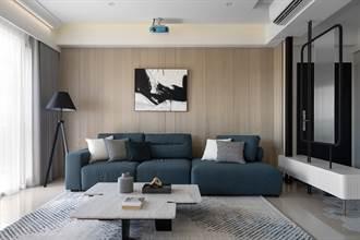 知域設計×一己空間制作,適度留白設計、簡約乾淨溫潤的北歐風