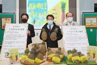 力挺農民 台電、台灣石油工會採購逾8萬公斤鳳梨
