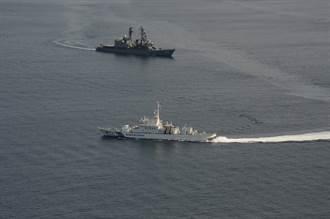 準備支援釣魚台?日海自護衛艦參與海上保安廳演訓