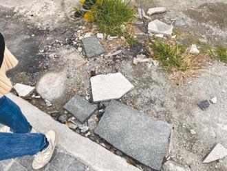 花蓮日出香榭大道碎裂 縣府:改用不鏽鋼