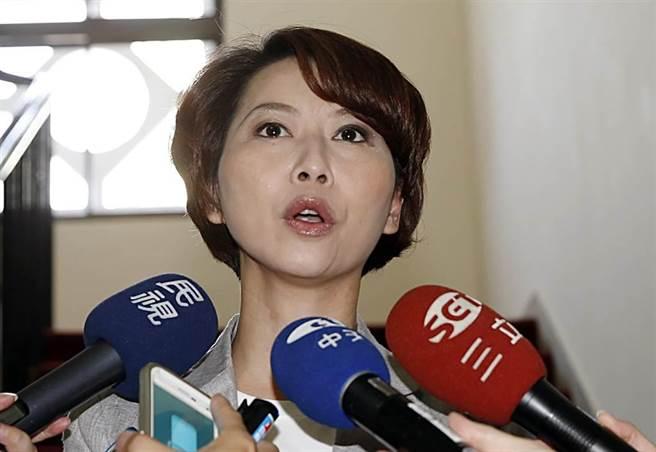 民進黨立委陳亭妃稱台灣鳳梨技術轉到大陸是國民黨害的。(中時資料照)