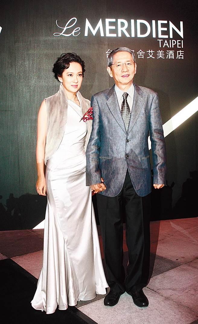 賴英里和蔡辰洋結婚16年,因男方病逝恢復單身。(圖/中時資料照)