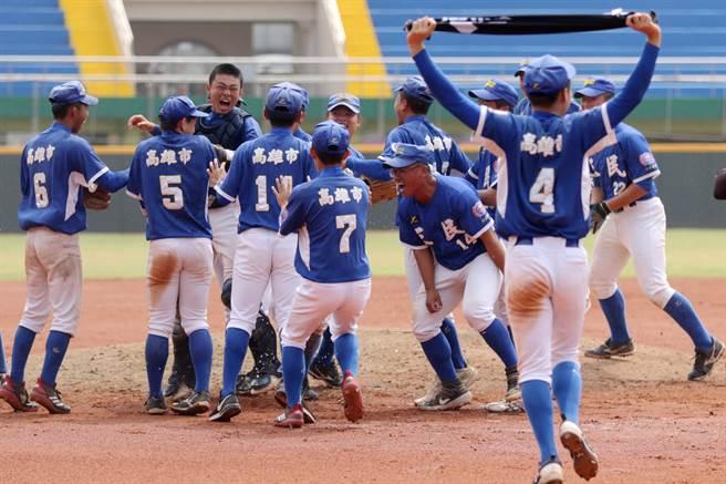 高雄三民高中以5比1擊敗台東體中,晉級木棒聯賽4強。(學生棒聯提供)