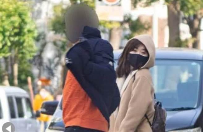 福原爱被曝光55张照片,和高帅男出游。(图/翻摄自日网)