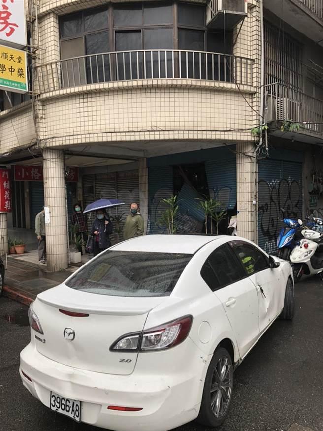 警方發現駕駛並未酒駕。(警方提供,文:陳鴻偉)