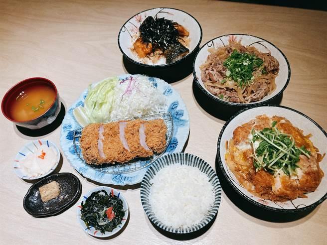 银座杏子日式猪排推出新品、全新商业午餐。(邱映慈摄)