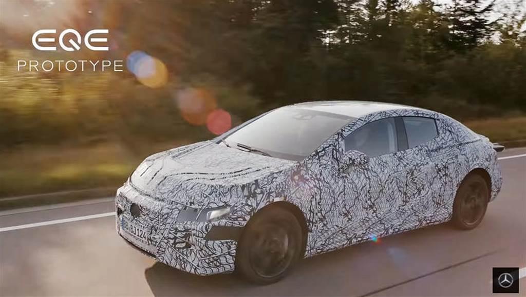 Model S 同價位帶對手:賓士 EQE 豪華電動房車 9 月慕尼黑車展首發