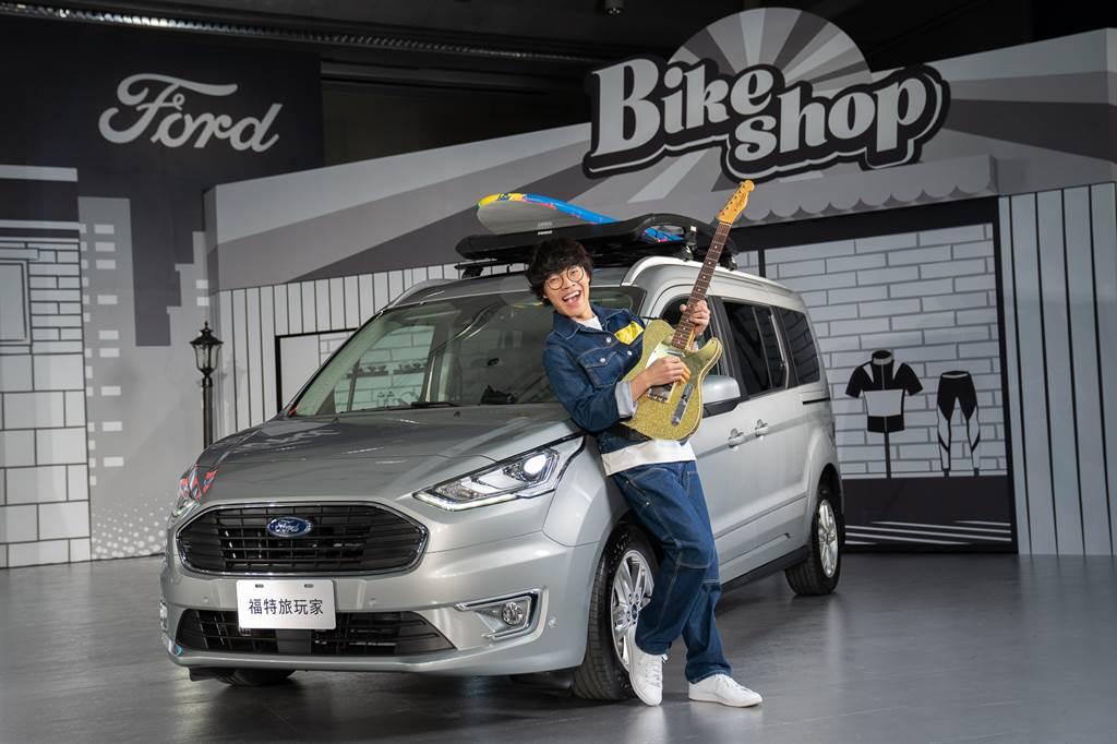 三金創作歌手盧廣仲首次為汽車代言,並為Tourneo Connect創作全新單曲「Life Box」。