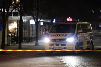 瑞典驚傳疑似持刀恐攻 8人輕重傷 兇嫌落網