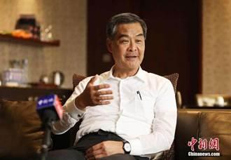 梁振英談香港選舉制度:由1200名選委選特首並非一成不變