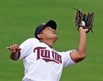 MLB》只在大聯盟待7天 林子偉被下放小聯盟等機會