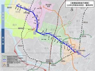 台中市捷運藍線4日報請交通部審議 力爭中央核定