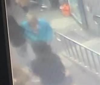 頂溪捷運站旁6旬變態男 故意用手肘撞擊女學生胸部