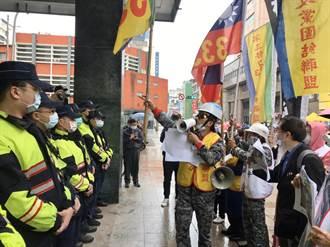 基隆圓環蔣公斷頭 333政黨聯盟怒吼林右昌毀損、叛國