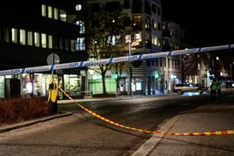 瑞典持刀攻擊案5重傷疑恐攻 警:凶嫌過去常涉案