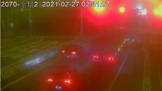 飆車族228連假西濱競速 竹南警追查取締35車主