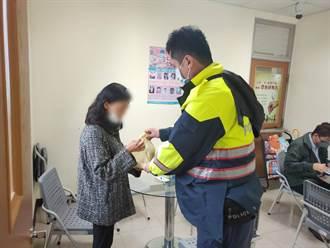 精障女子呆坐客運站多日 頭份警協助返家