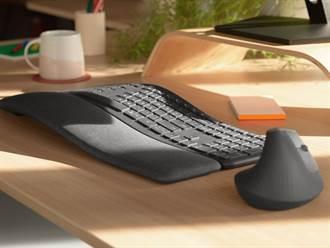 羅技ERGO K860人體工學鍵盤上市 讓你揮別鍵盤手