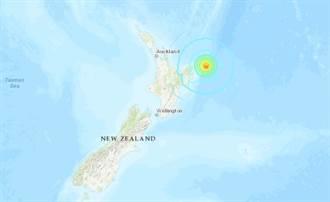 強烈搖晃 深夜連3震!紐西蘭8.1極淺層地震 已發海嘯警報