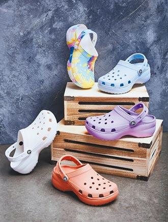 Crocs洞洞鞋 甜美變身