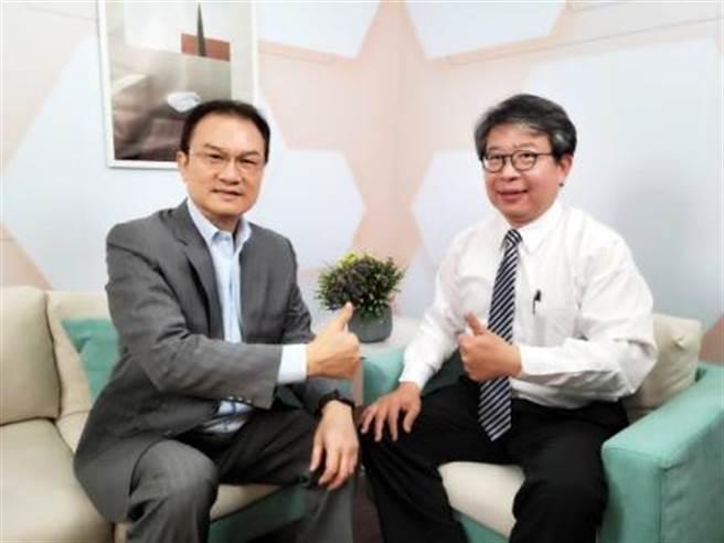 理財周刊發行人洪寶山(左)、陳益宏(右)。(圖/理財周刊提供)