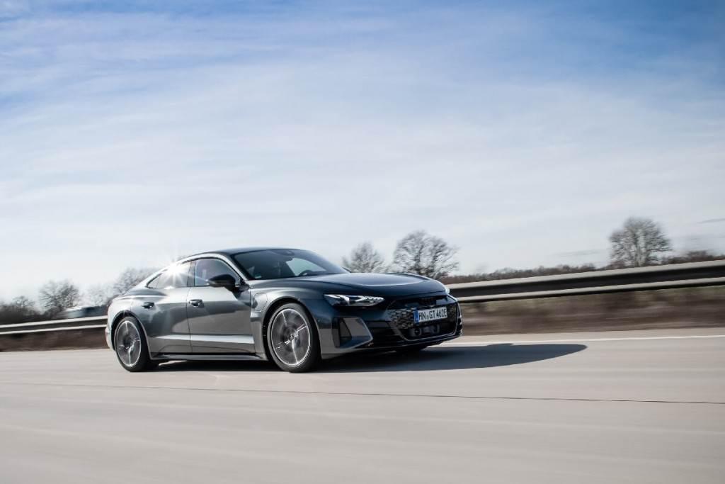 Audi e-tron GT的製造來自傳統工藝與智能工廠交匯
