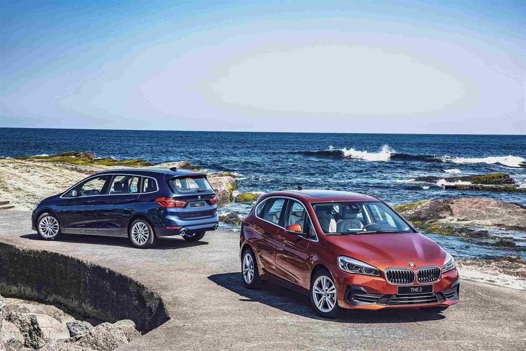 樂趣生活就此成行,全新BMW 2系列Active Tourer, Gran Tourer Deluxe Edition豪華版即日進駐全台展示中心。