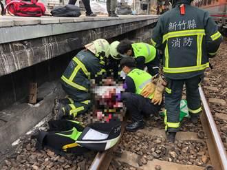 新豐一女子墜火車鐵軌 已無呼吸心跳、身分待查