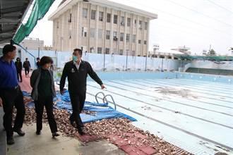 解決縣民無泳可游窘境 台東縣府將整修東大舊泳池