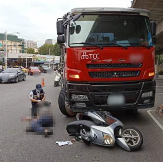 痛失菁英 高雄消防小队长接儿放学途中 遭违规水泥车撞击身亡