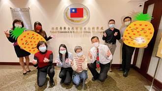 溫哥華僑民力挺台灣鳳梨 已訂購超過1600箱